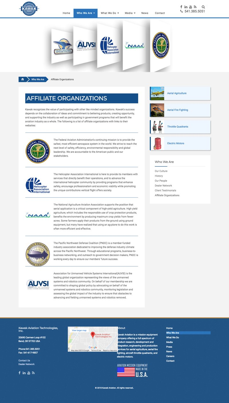 Kawak Aviation - Affiliates