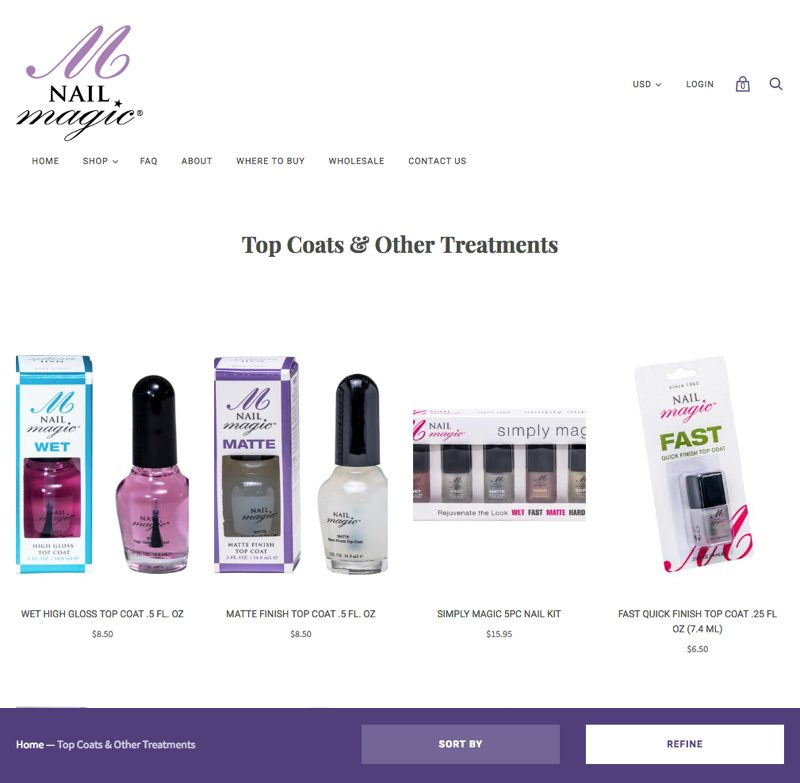 Nail Magic - Category