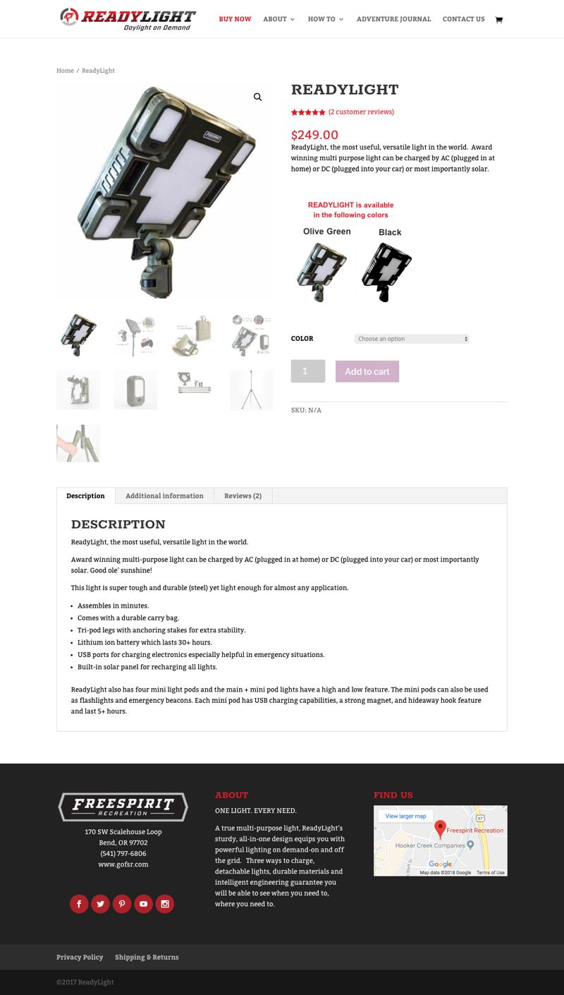 ReadyLight - Product