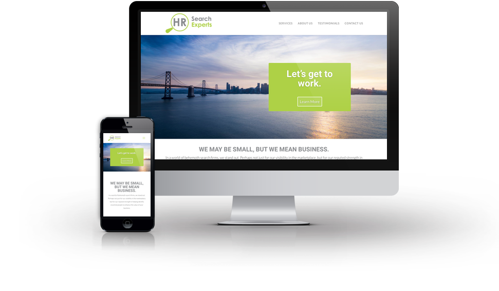 HR Search Experts Website