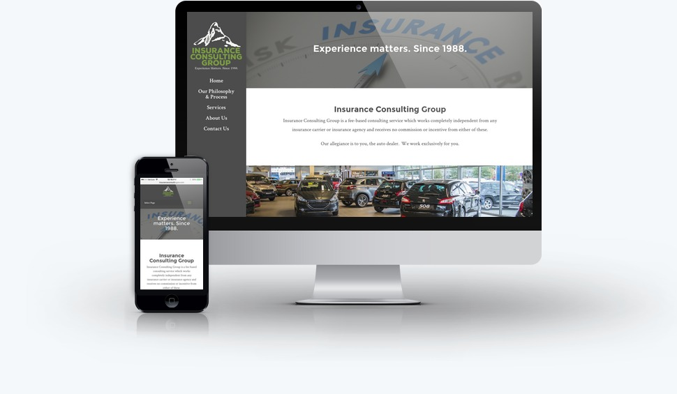 Insurance Consulting Group Website