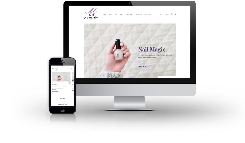 Nail Magic Website