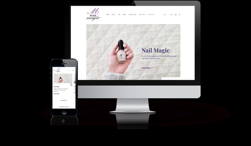Nail Magic Website