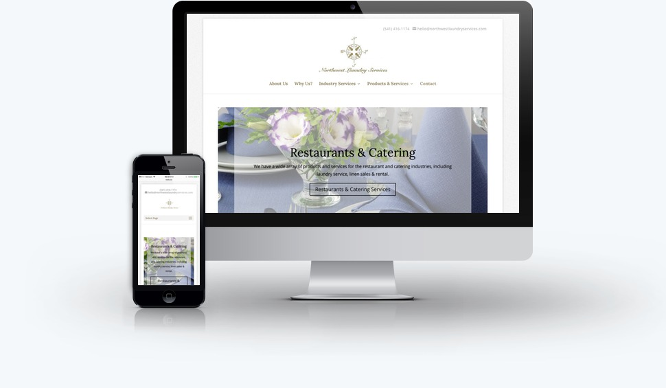 Northwest Laundry Services Website