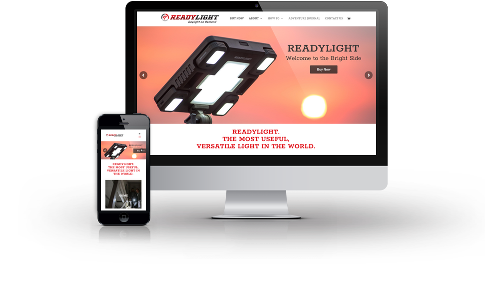 Readylight Website