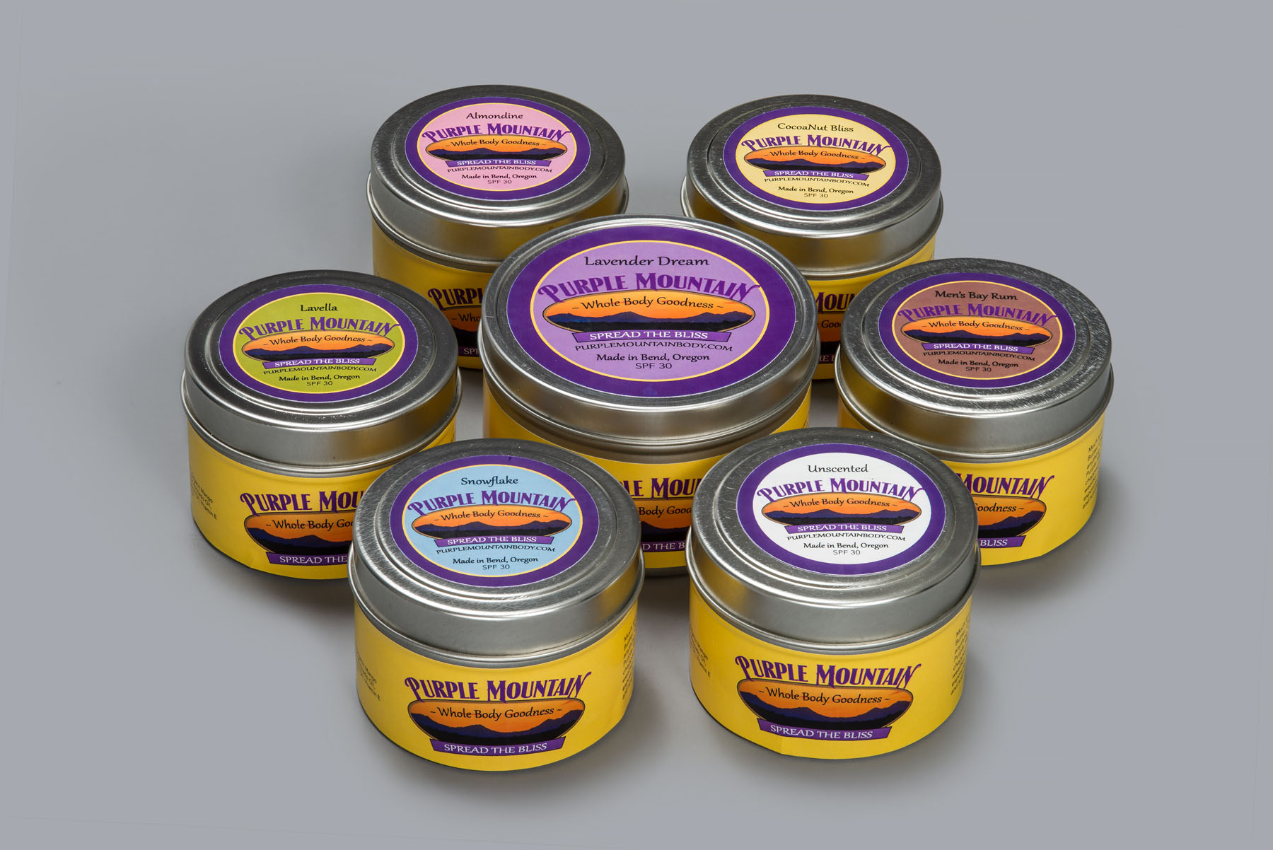 In the Limelight : Purple Mountain Body Products