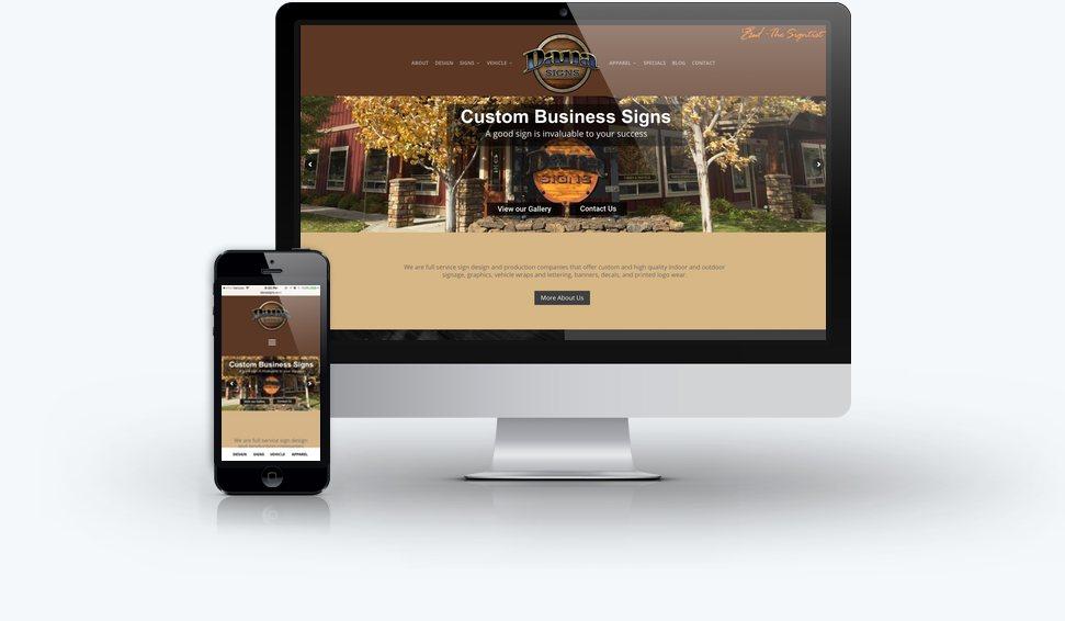 Dana Signs Website
