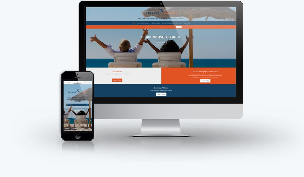 Katalyst kampus Responsive Website