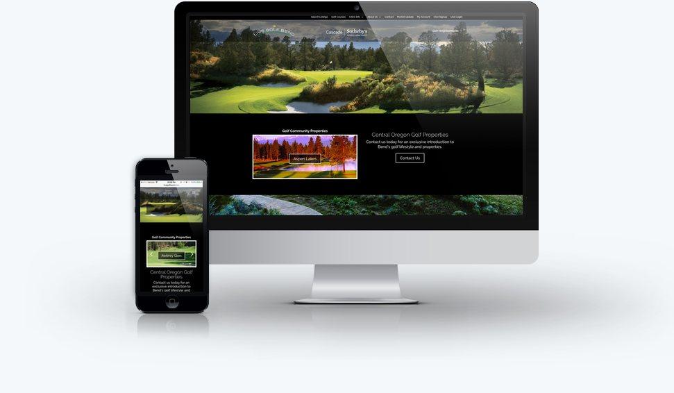 Live Golf Bend Real Estate Website