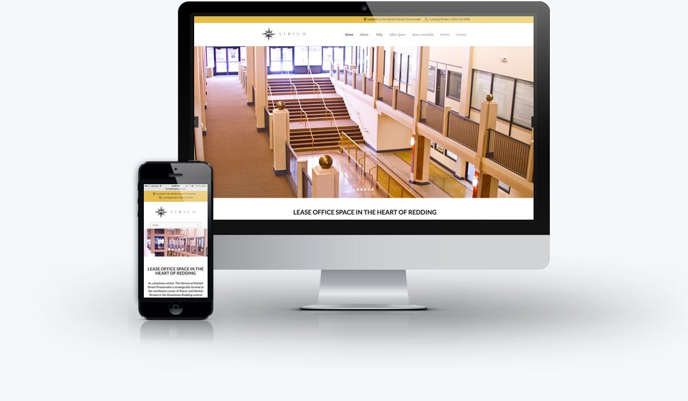 The Redding Atrium Website